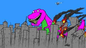 Barney attack