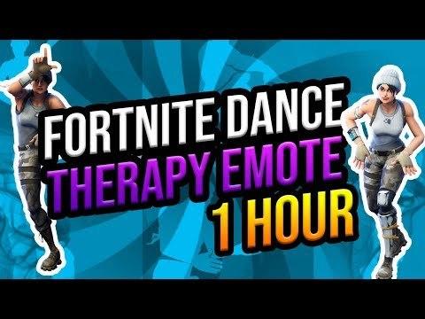 Dance therapy fortnite emote