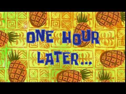 One Hour Later Spongebob