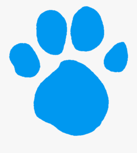 83 830638 blues clues paw print blues clues blue pawprint